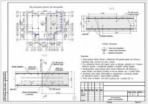Устройство рабочего шва бетонирования фундаментной плиты