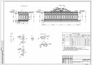Ворота металлические решетчатые декоративные