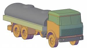 Машина грузовик с цистерной