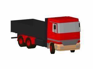 Машина бортовой грузовик