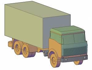 Машина тентованный грузовик