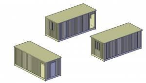 Модули-бытовки контейнерного типа