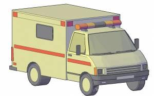 Машина скорой неотложной помощи
