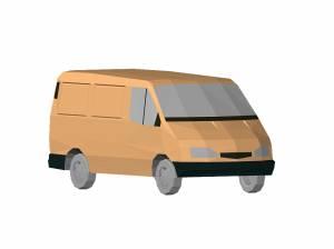 Машина микроавтобус