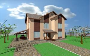 Индивидуальный одноквартирный жилой дом (коттедж)
