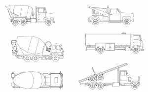 Строительная техника (машины, бетоновоз)